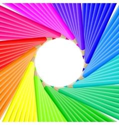 Pencil blog icon Web vector image