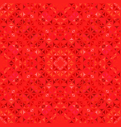 Red abstract seamless curved shape kaleidoscope vector