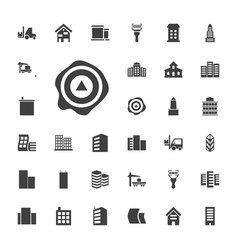 33 distribution icons vector