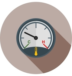 Car Temperature vector