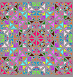 Colorful abstract repeating curved shape vector
