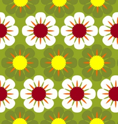 flower wallpaper vector image
