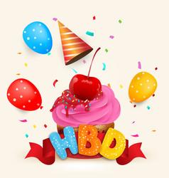 Happy birthdays vector