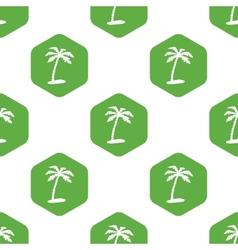 Palm pattern vector