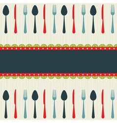 Restaurant template vector