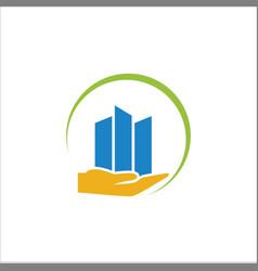 business-finance-logo vector image vector image