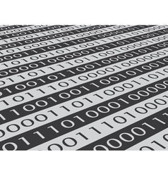 binary code vector image vector image