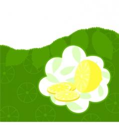 lemon2 vector image vector image