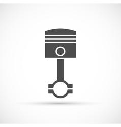 Piston engine icon vector