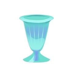 vase for sundae vector image vector image