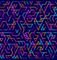 Abstract geometric background random colored vector