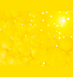 abstract yellow square party background with vector image