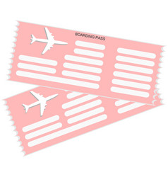 airticket icon vector image