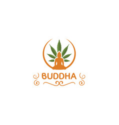 Buddha design template vector