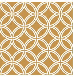 Gold background and pattern curve pattern japane vector