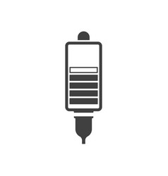 icon contactless charging on vector image