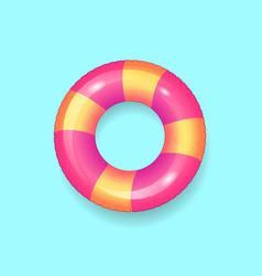 lifebuoy saving ring icon vector image