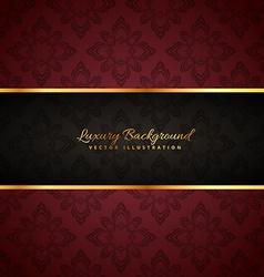 Luxury golden background vector