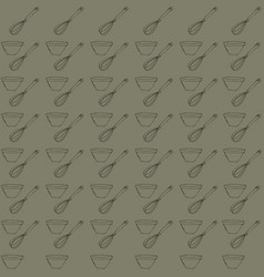 Retro object patterns for making seamless vector