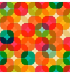 rounded square pattern vector image