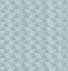 Retro Blue Abstract Triangle Background vector image vector image