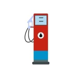 Gasoline refueling flat icon vector image