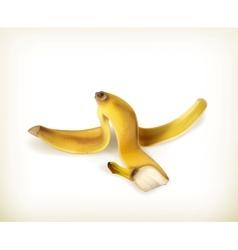 Banana peel vector