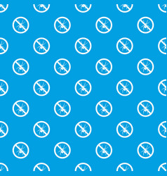 no spider sign pattern seamless blue vector image vector image