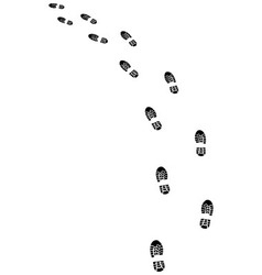 shoes turn left vector image vector image