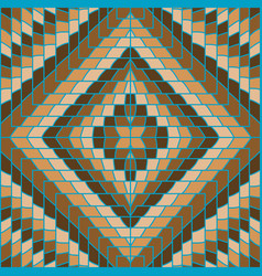 brown geometrical background vector image