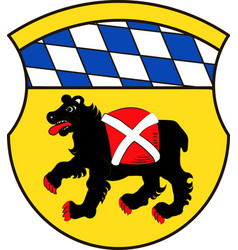 Coat of arms of freising is a town in upper vector