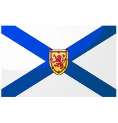 flag nova scotia vector image