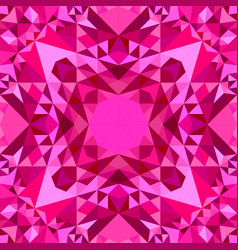 pink seamless kaleidoscope pattern background vector image