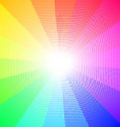 textured spectrum vector image vector image