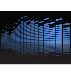 Equalizer Display vector image