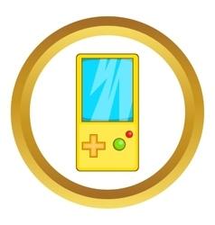 Pocket tetris icon vector image vector image