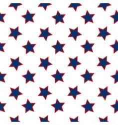 american stars flag pattern vector image