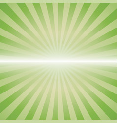 Green color burst vector