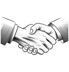 Sketch handshake vector