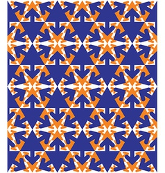 Symmetric colorful textured endless pattern with vector image vector image