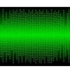 Abstract computer code vector image