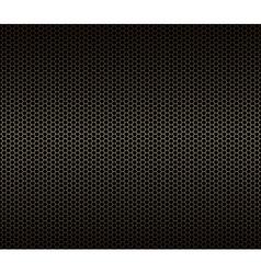 Abstract geometric seamless pattern Gold hexagon vector