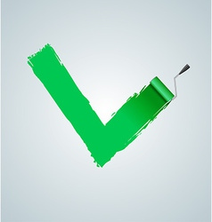 Check Marks painted vector image