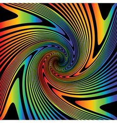 Design multicolor whirl movement background vector