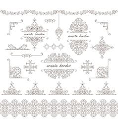 Elegant element for design vector image