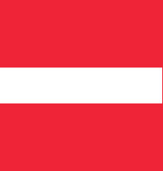flag of austria national symbol of the state vector image