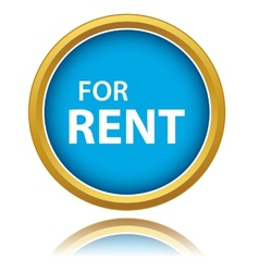 For rent tag vector image