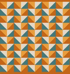 geometric bright multi colored background vector image