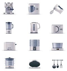 Part two of domestic appliances set vector image