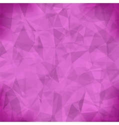 Pink Light Polygonal Mosaic Background vector image